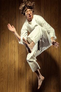 karatenerdjumpkick