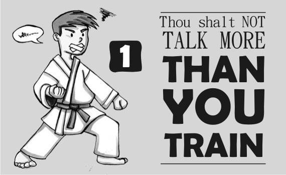 Thou Shalt Not Talk More Than You Train