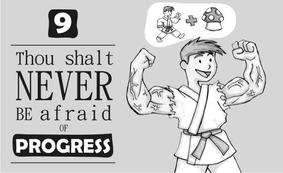 Thou Shalt Never Be Afraid of Progress