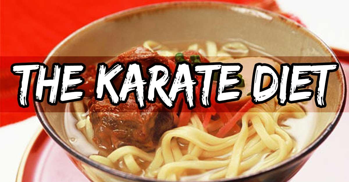 martial art diet foods